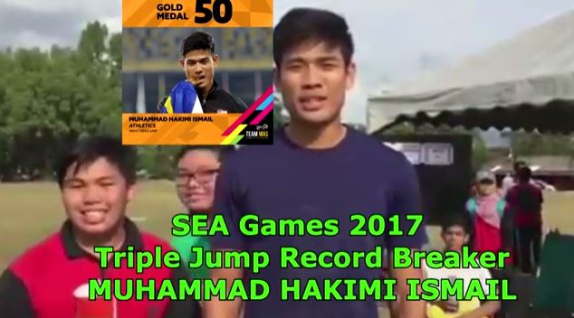 SEA Games Triple Jump REcord Breaker 2017
